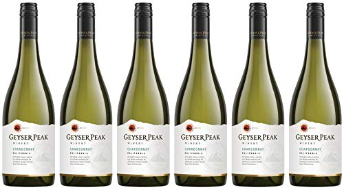 6x California Series Chardonnay 2016 - Geyser Peak Winery, California - Weißwein -