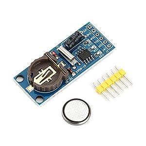 GreatWall Mini PCF8563T Echtzeituhr RTC Board mit 40mAh Batterie für Elektronik Blau