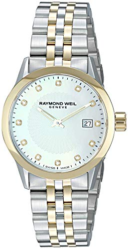 Raymond Weil da donna 'Freelancer orologio al quarzo acciaio INOX casual, donna, color silver-toned (Model: 5629-stp-97081)