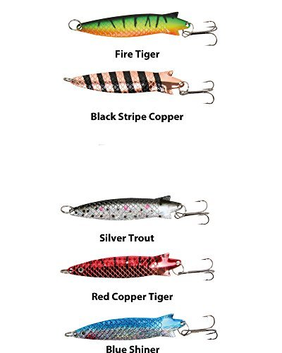 Daiwa Megaforce Hunter Lure/Toby Spoon Kit 5 Pack**13g for sale  Delivered anywhere in UK