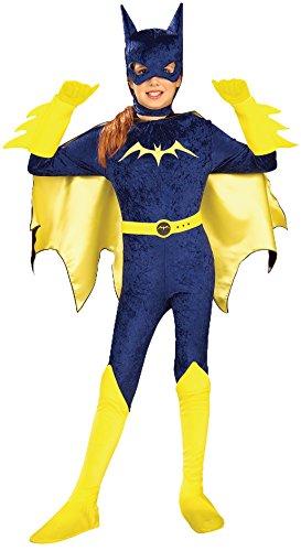 Kostüm Girls Batgirl Gotham - Rubie's Gotham Mädchen Batgirl-Kostüm für Mädchen