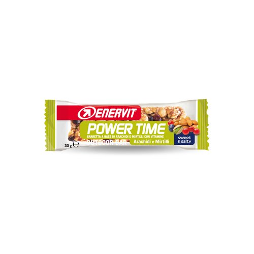 Enervit power time barretta energetica gusto arachidi/mirtilli, box 24 pz da 30 g (28-01-2018)
