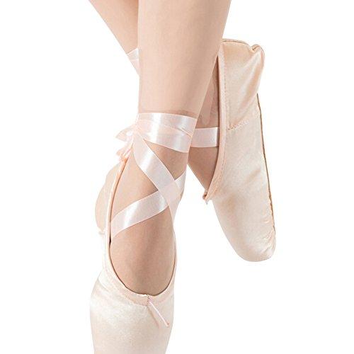 Homieco™ Scarpe da ballo con scarpe da ballo con scarpe da ballo e peluche Rosa