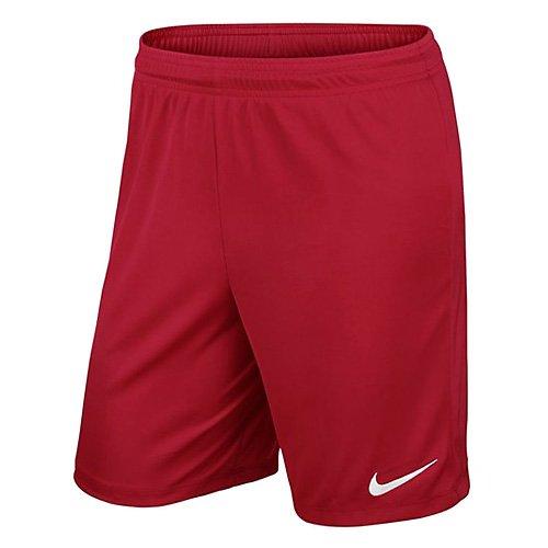 Nike Kinder Park II Knit Shorts ohne Innenslip, University Red/White, M, 725988-657
