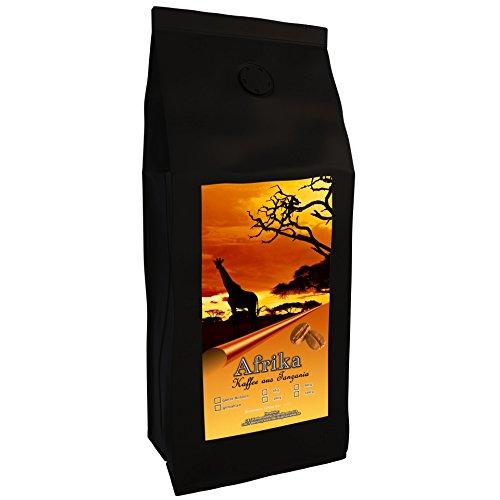 Kaffeespezialität Aus Afrika - Tansania, Dem Land Des Kilimandscharo (1000 Gramm,Ganze Bohne) -...