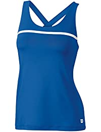 Wilson W Team T-Shirt sans manches de tennis, femme