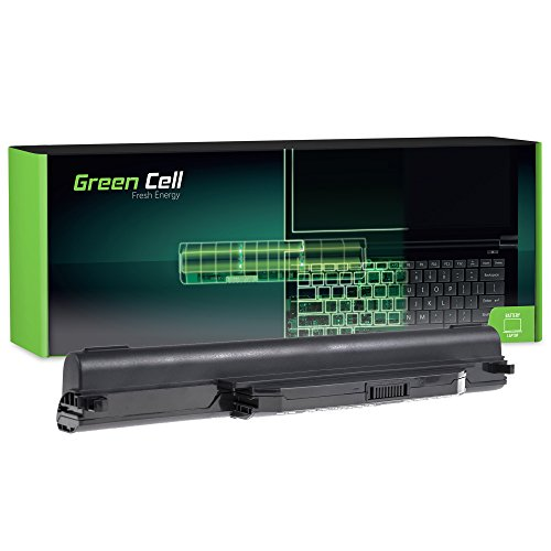 Green Cell Extended Serie A32-K55 Laptop Akku für ASUS F55 F55A F55C F75 F75A F75V F75VB F75VC F75VD R704 R704A R704V R704VB R704VC R704VD (9 Zellen 6600mAh 10.8V Schwarz)