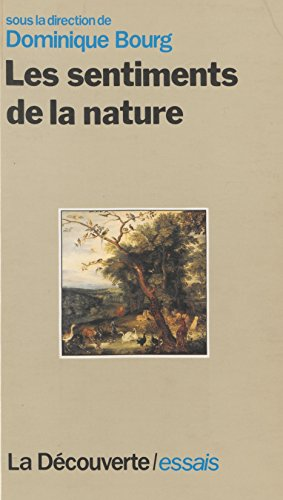 Les Sentiments de la nature (Cahiers libres)
