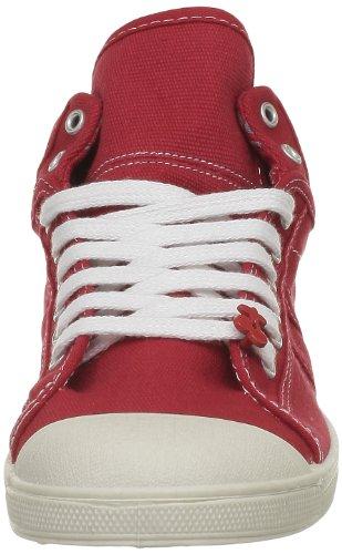 Le Temps des Cerises Basic 03 Mono, Baskets mode femme Rouge (Red)