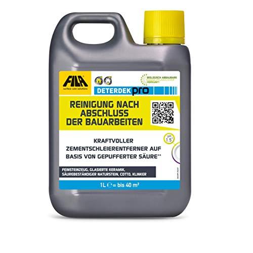 FILA Deterdek Grundreiniger und Zementschleierentferner - 1 Liter -