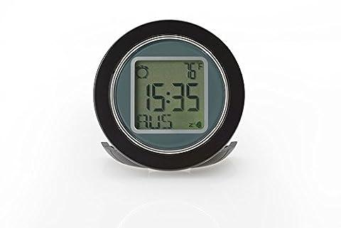 Carrera World Time Travel Alarm Clock