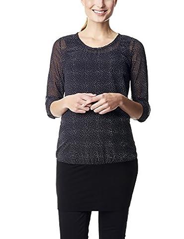 ESPRIT Maternity Damen Regular Fit Umstands Tunika Tunic, Gr. 44 (Herstellergröße: XXL), Mehrfarbig (Navy