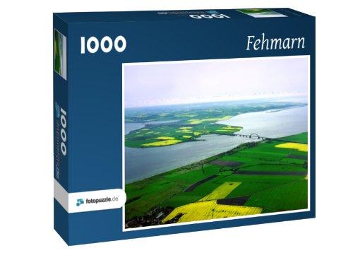 Preisvergleich Produktbild Fehmarn - Puzzle 1000 Teile mit Bild von oben