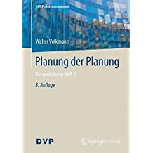 Planung der Planung: Kurzanleitung Heft 2 (DVP Projektmanagement)