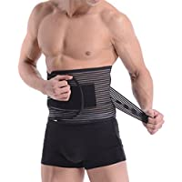 5b5967f35155 LQZ(TM) Ceinture De Sudation Amincissante Femme Homme Musculation Lombaire  Protection Fitness Exercice Abdomen