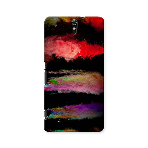 ArtzFolio Colorful Motion : Sony Xperia C5 Matte Polycarbonate ORIGINAL BRANDED Mobile Cell Phone Protective BACK CASE COVER Protector : BEST DESIGNER Hard Shockproof Scratch-Proof Accessories