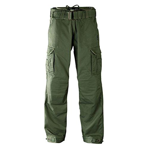 John Doe KAMIKAZE CARGO Hose Regular Cut mit DuPont Kevlar® Faser - schwarz Grün