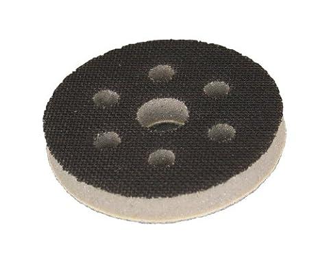 Softauflage Ø 75mm 6-Loch Interface-Pad für Schleifteller Polierteller Stützteller für Klett-Schleifscheiben - DFS