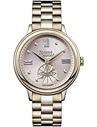 Vivienne Westwood Womens Analogue Classic Quartz Watch with Stainless Steel Strap VV158PKNU