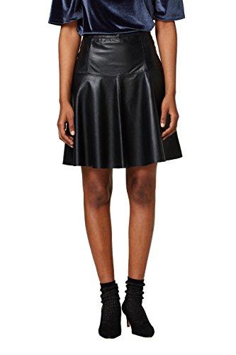 ESPRIT Collection Damen 018EO1D003 Rock, Schwarz (Black 001), 42