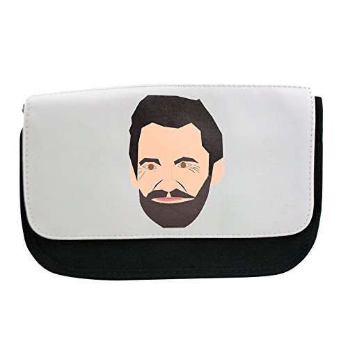 Preisvergleich Produktbild Pencil case with The famous Australian actor that often portrays the Wolverine. This is a vector file Made in Inkscape en.wikipedia.org wiki Hugh_Jackman