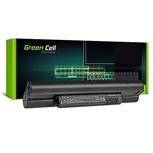 Green Cell Extended Serie H768N J590M K916P Laptop Akku für Dell Inspiron Mini 10 1010 10v 1011 11z 1110 (6 Zellen 4400mAh 10.8V Schwarz) (Dell-mini 10 Akku)