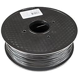 Filament PLA noir – 1.75 mm – 1kg sur bobine – pour imprimante 3D FDM – tolérance +/- 0,03mm – meilleure qualité/prix