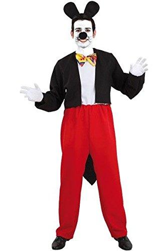 Imagen de disfraz de ratón mickey  único, xl