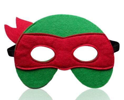 1 stücke Ninja Turtles Maske Captain America Teenage Mutant Ninja Turtles The Avengers Kind Geburtstagsgeschenk Cosplay Partei TMNT Masken, ich (Turtle Kostüme Mädchen Ninja Halloween)