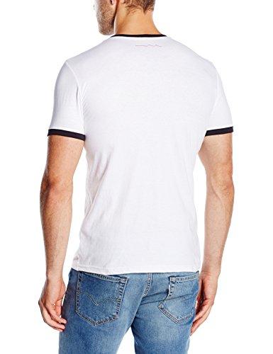 Teddy Smith Herren T-Shirt The-Tee MC Weiß - weiß