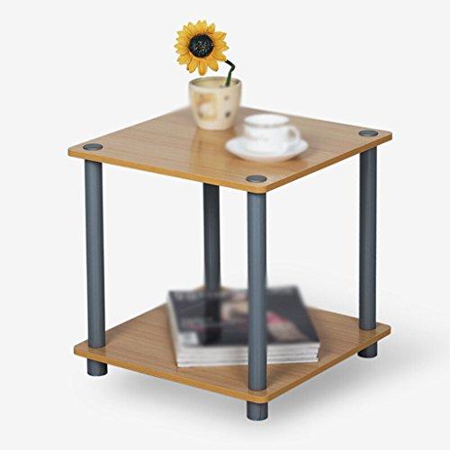 DFHHG® Estantería, tabla de té de color de madera Rack de almacenamiento durable
