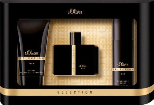 s.Oliver Herrendüfte Selection Men Geschenkset Eau de Toilette 30 ml + Shower Gel 75 ml + Deodorant Spray 50 ml 1 Stk.