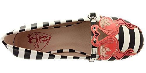 Giorni Di Ballo Bandito Riemchenballerinas Magic Moment 213 Stripes