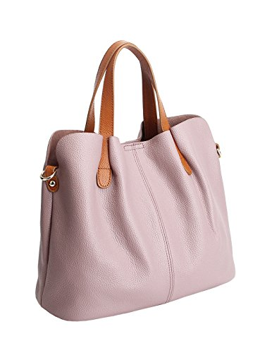 Sufely, Borsa a mano donna Light Purple