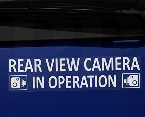 taxis camiones minicab 2 X Exteriores-en coche cámara de grabación Stickers-Cctv sign-van