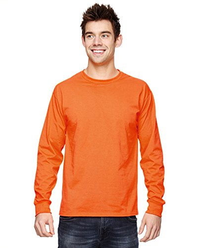 Fruit of the Loom T-shirt - 4930R Heavy Cotton Orange - Safety Orange