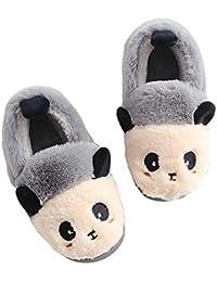 Pantofole Inverno Ragazzi Ragazze Scarpe di Cotone Bambini Peluche  Antiscivolo Home Caldo Ciabatte Invernali ae5ff5d944b