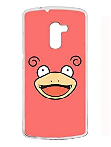 Madanyu Cartoon - I Love Cartoon - For Cartoon Lovers - 2D Glossy Back Case Cover For Lenovo K4 Note - Transparent Sides