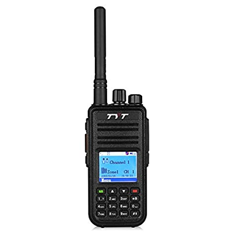 Tytera TYT MD-380 Radio DMR numérique 400-480 UHF 2000mAh Noir
