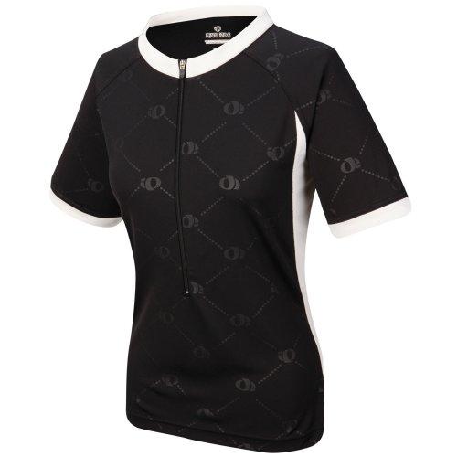 Pearl Izumi Damen Elite Versa 3/kurzen Jersey, damen, schwarz / weiß (Sleeveless Elite Jersey)