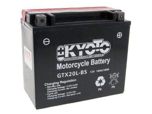Batteria Kyoto 12V GTX20L-BS MF senza manutenzio