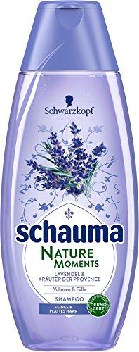 Schwarzkopf Schauma Nature Moments Shampoo, Lavendel und Kräuter der Provence, 5er Pack (5 x 400 ml)