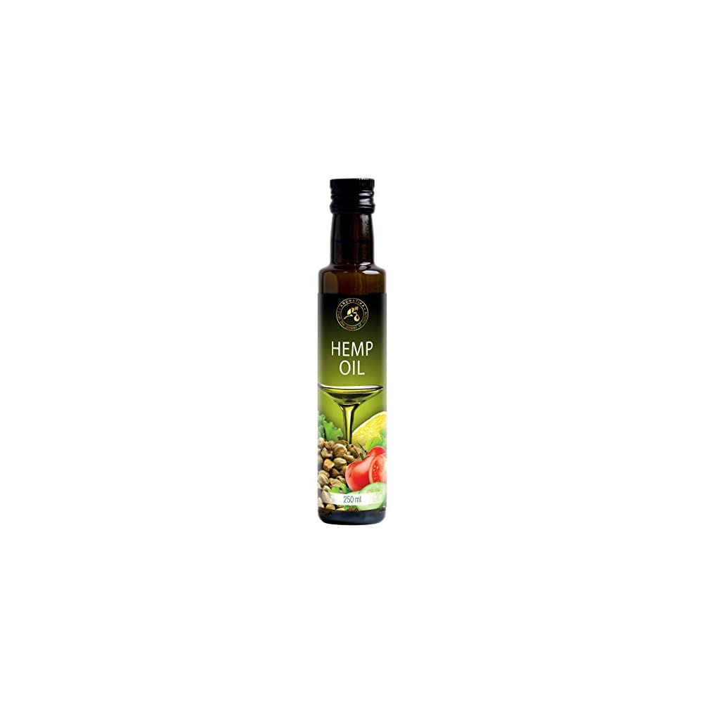 Hanfl 100 Reines Naturreines Kaltgepresst Hanfsamen L 250ml Glasflasche Hanf L Cannabis Sativa Seed Oil Hanfsamenl