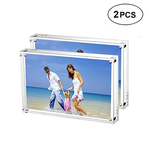 Marcos de fotos acrílicas 15 x 20 cm