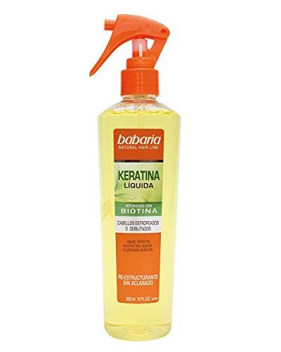 Babaria Natural Hair Line Keratina Trattamento dei Capelli - 100 Ml