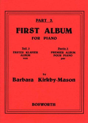 First Album Volume 3 - Piano
