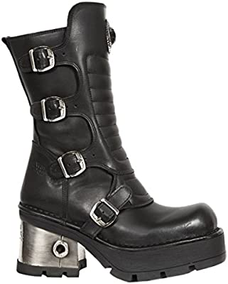 New Rock Womens M.373QX-S3 Leather Boots