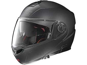 Nolan N 104Absolute Special N-Com Flip Up Helmet, Color: Black Graphite, Größe: XXS