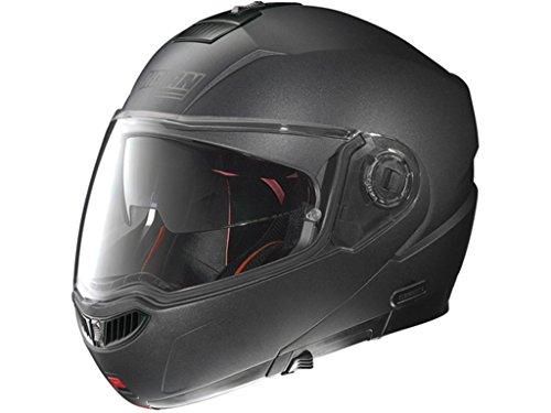 N104 Absolute Klapphelm Special N-Com Black graphite M - Motorradhelm