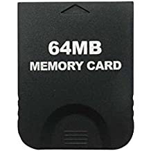 NF&E 64MB Memory Card Stick For Nintendo Wii Gamecube NGC Console Video Game
